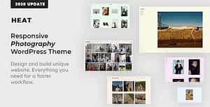 Heat – Responsive Photography WordPress Theme