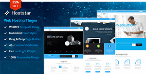 HostStar – WP Theme for Hosting, SEO and Web Design Business