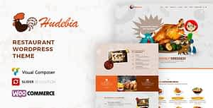 Hudebia – Restaurant WordPress Theme