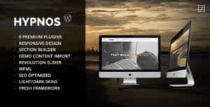 Hypnos – OnePage Parallax WordPress Theme