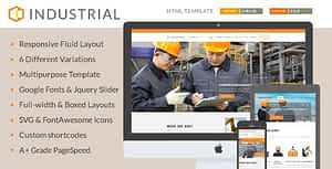 Industrial – Architects & Engineers HTML5 Template