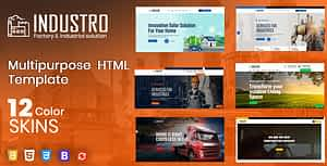 Industry – Factory & Industrial HTML Template