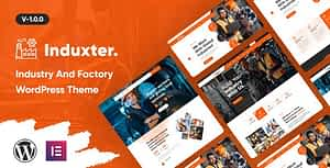 Induxter – Industry And Factory WordPress Theme