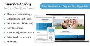 Insurance Agency – Business WP Theme