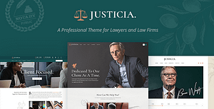 Justicia – Lawyer and Law Firm Theme