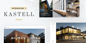 Kastell – Theme for Single Properties and Apartments