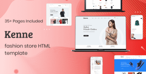 Kenne – Fashion Store HTML Template
