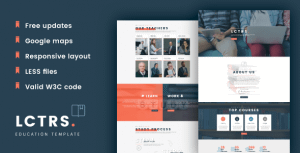 LCTRS – Education & Online Courses Responsive HTML Template