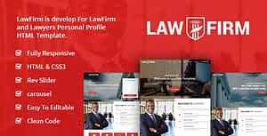 LawFirm – Lawyers Html Template