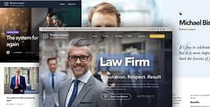 Lawyer – Law firm and Legal Attorney WordPress Theme