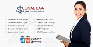 Download Ligal Law HTML Template