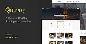 Listiry – Directory & Listing Template
