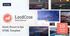 LordCros – Hotel, Resort & Spa HTML Template