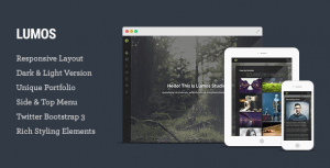 Lumos – Photography Template for Photographers