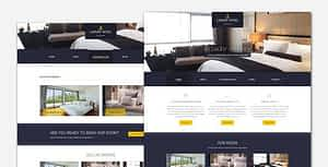Luxury – Hotel and Resort WordPress Theme