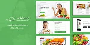 Madang – Healthy Food Delivery HTML5 Template