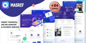 Masref – Online Banking & Payment Template