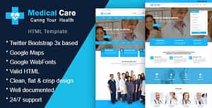 Medikare – Health & Medical HTML Template