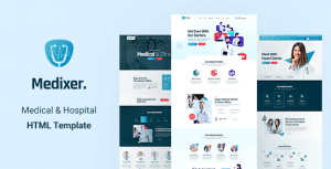 Medixer – Medical and Health HTML5 Template