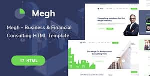 Megh-Business & Consulting solutions HTML Template