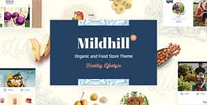 Mildhill – Organic and Food Store Theme