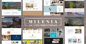 Milenia – Hotel & Resort Website Template