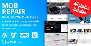 MobRepair – Mobile Phone Repair Services WordPress Theme