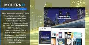 Moderno – Multipurpose Fast Performance HTML Template