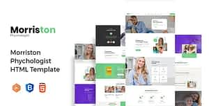 Morriston – Psychologist & Counseling HTML Template