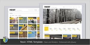 Neon – Clean and Modern HTML Template