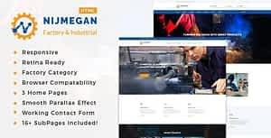 Nijmegan – Factory & Industrial Business Template