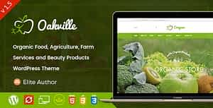 Oakville – Organic Food and Beauty Products WP Theme