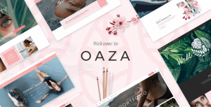 Oaza – Elegant Spa and Wellness Theme