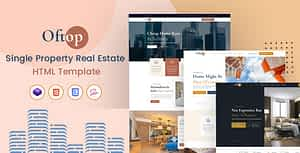 Oftop – Single Property HTML Template