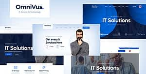 Omnivus – Angular 9 IT Solutions & Digital Services Template