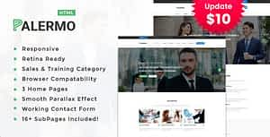Palermo – Consulting & Business HTML Template