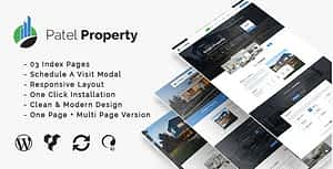 PatelProperty – Single Property Real Estate WordPress Theme