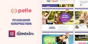 Petie – Pet Care Center & Veterinary WordPress Theme