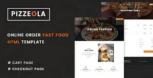 Pizzeola | Fast Food HTML Template