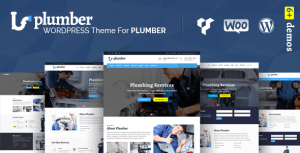 Plumber Pro – WordPress Theme for Construction & Repairing Services