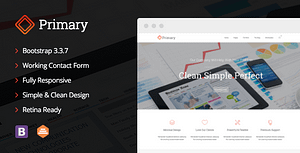 Primary – Business HTML/CSS Template