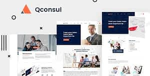 Qconsul – Business Consulting HTML Template