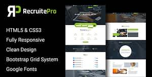 Recruit Pro Staffing and Recruiting HTML Template