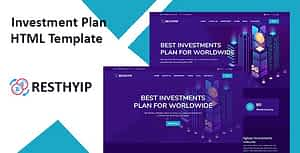 Resthyip – HYIP & Financial Investment HTML Template