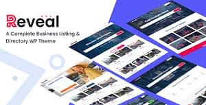Reveal – Directory & Listing WordPress Theme