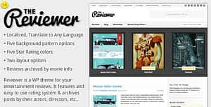 Reviewer – WP Theme for Entertainment Reviews