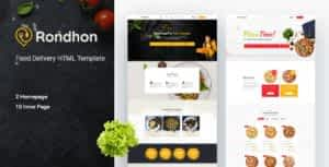 Rondhon – Food Delivery HTML Template