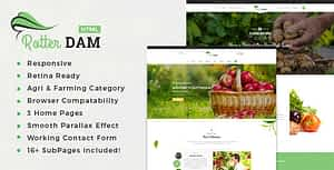 Rotterdam – Organic Food and Beauty Products HTML Template