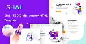 SHAJ-SEO & Digital Agency HTML Template