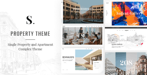 Sagen – Single Property and Apartment Complex Theme
